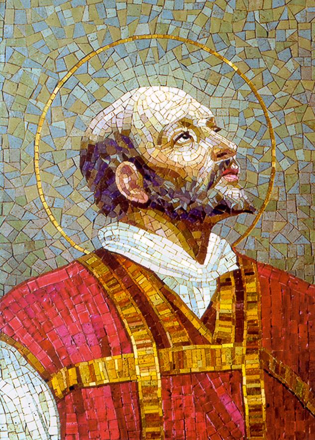 ignatius loyola mosaic